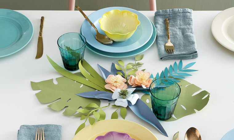 Paper art: tante idee décor con i fiori di carta