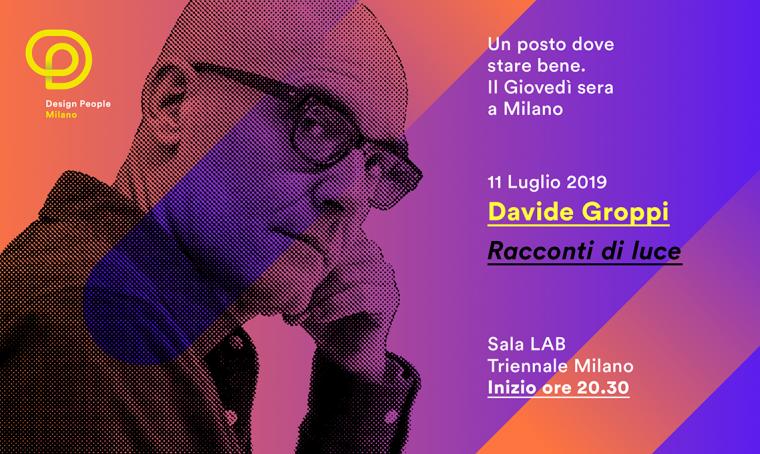 Racconti di luce in Triennale con Davide Groppi