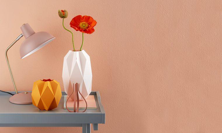 vaso origami piegature 3d folding