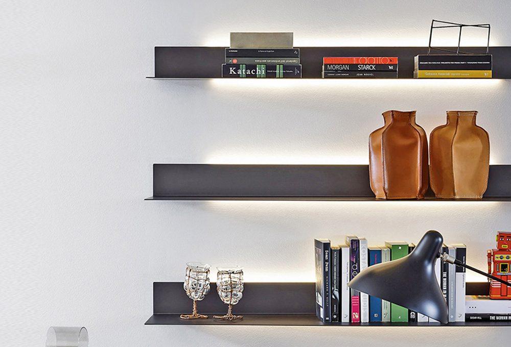 Illuminare la libreria
