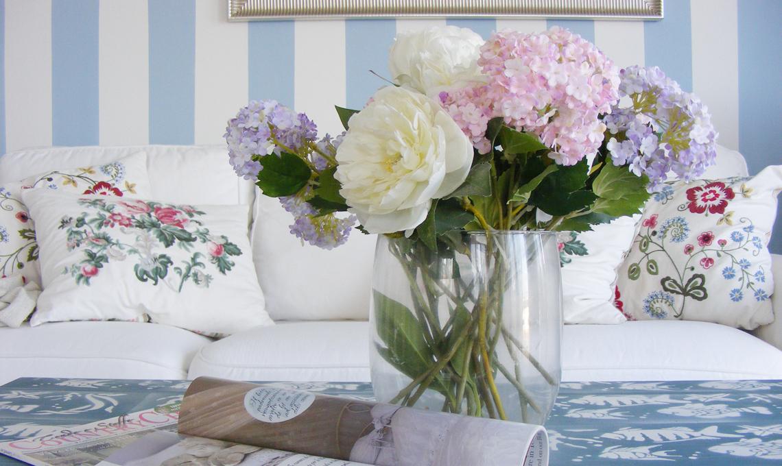 fiori freschi in casa