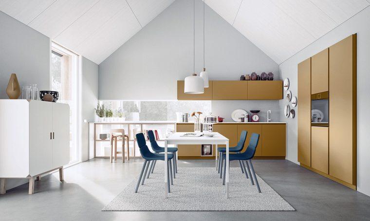 Tendenze in cucina: il ritorno del colore