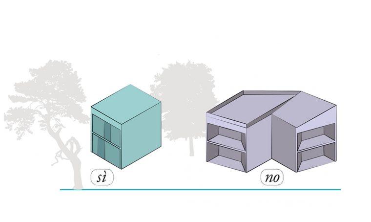 Che forma deve avere la casa passiva