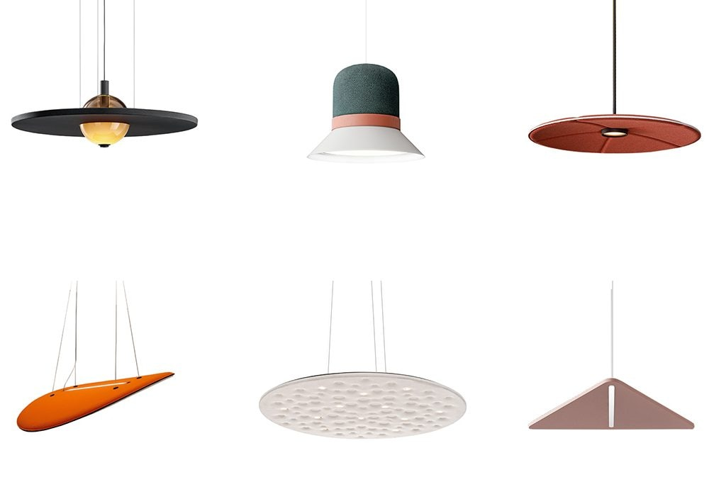 8 lampade anti-rumore