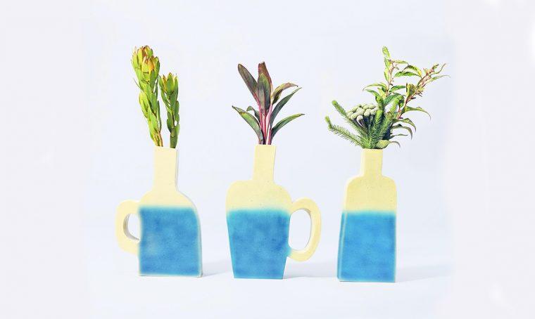I vasi cambiano colore e ti dicono il livello dell'acqua