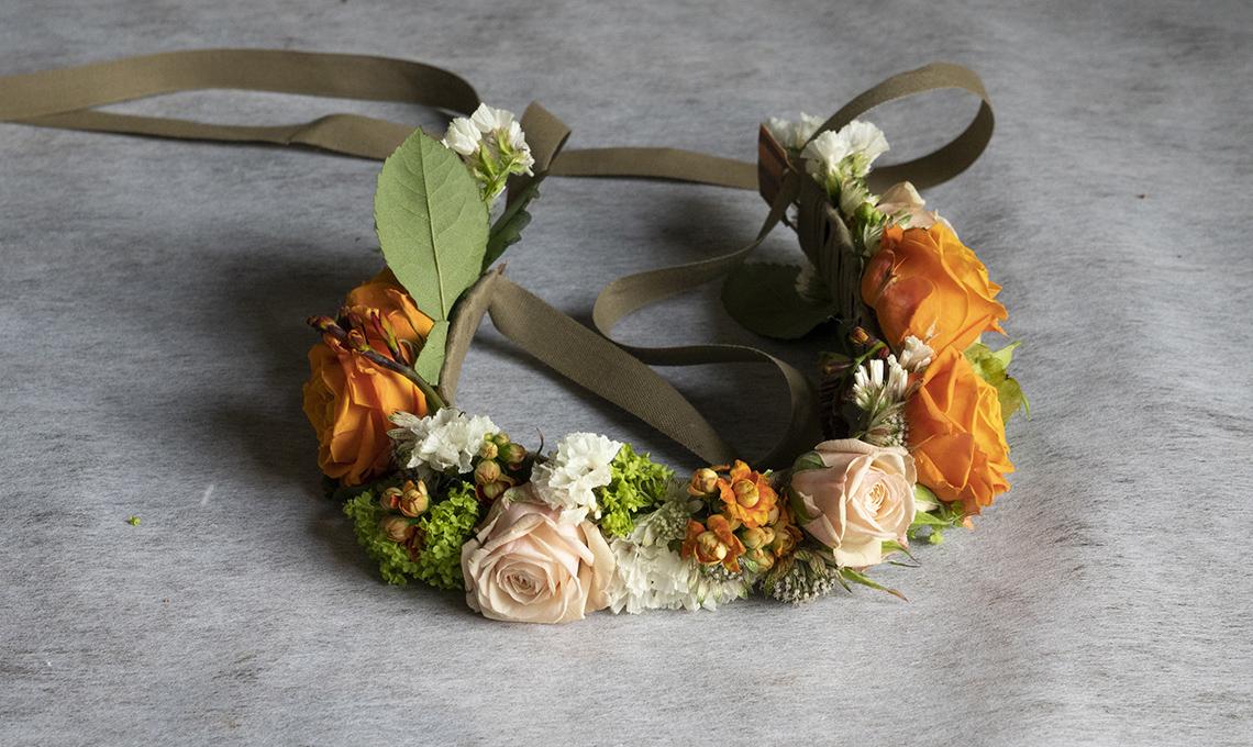 coroncina di fiori