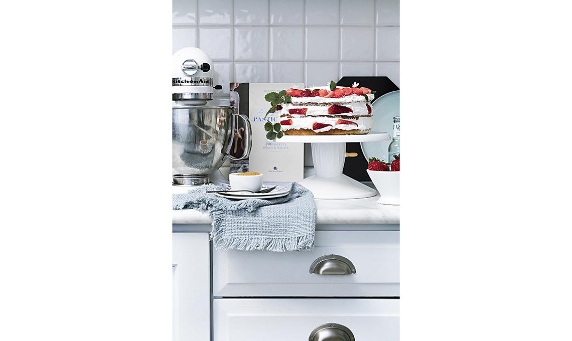 restyling cucina con colore