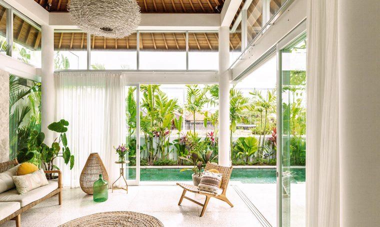 Villa a Bali tra design, artigianato orientale e stile minimal