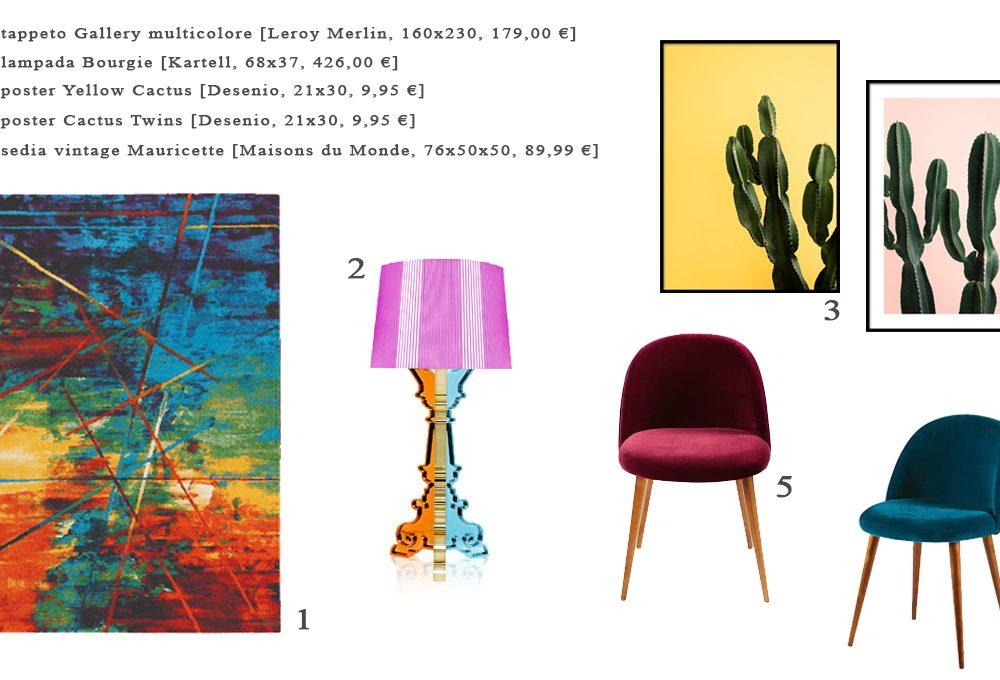 6 idee per arredare con il colore