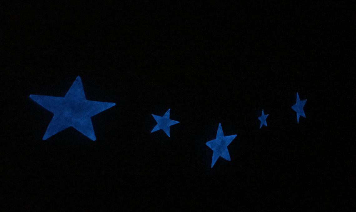 festoni stelle luminose