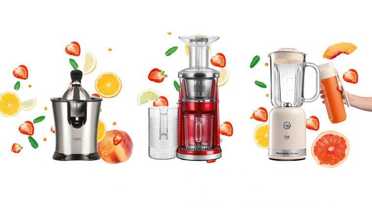 Gli elettrodomestici per preparare i succhi di frutta