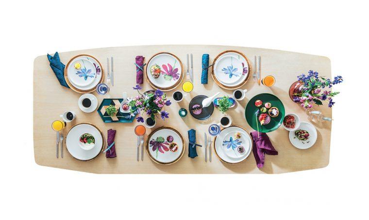 Mise en place: mix inattesi tra piatti e tovagliette