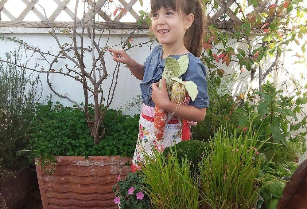 Come realizzare un grembiule da giardinaggio per bambini