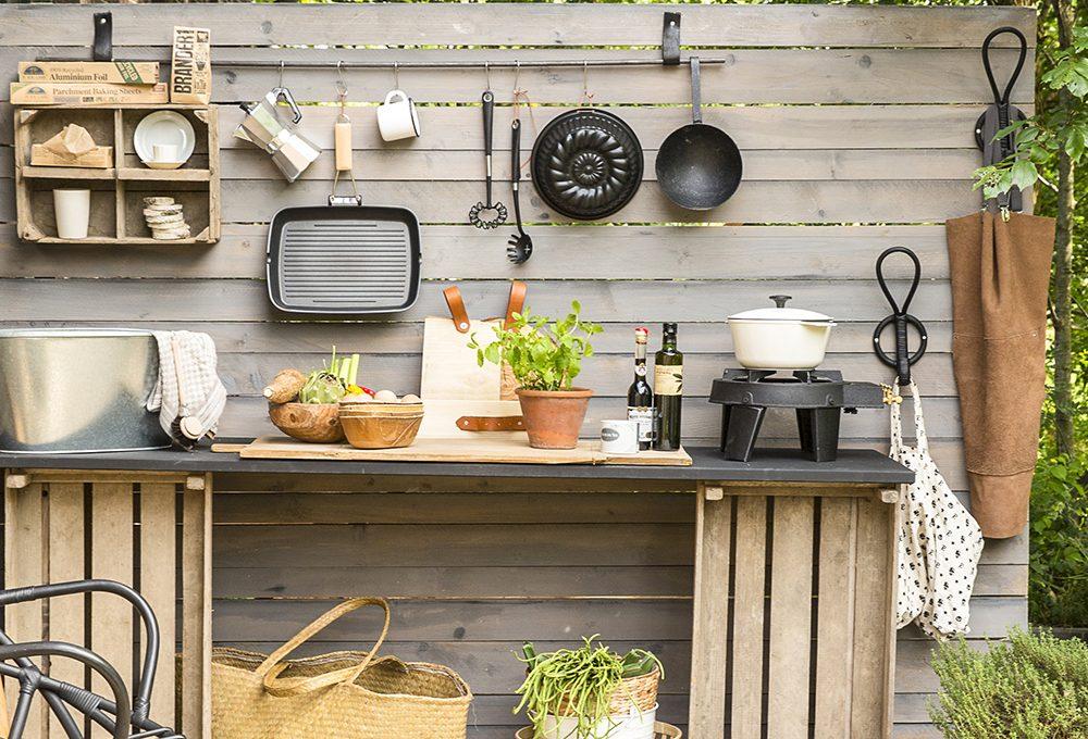 Come creare una cucina open air