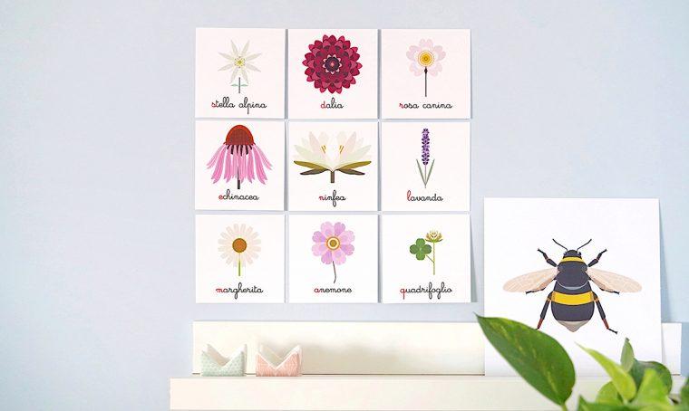 Decorare la cameretta con le nomenclature botaniche