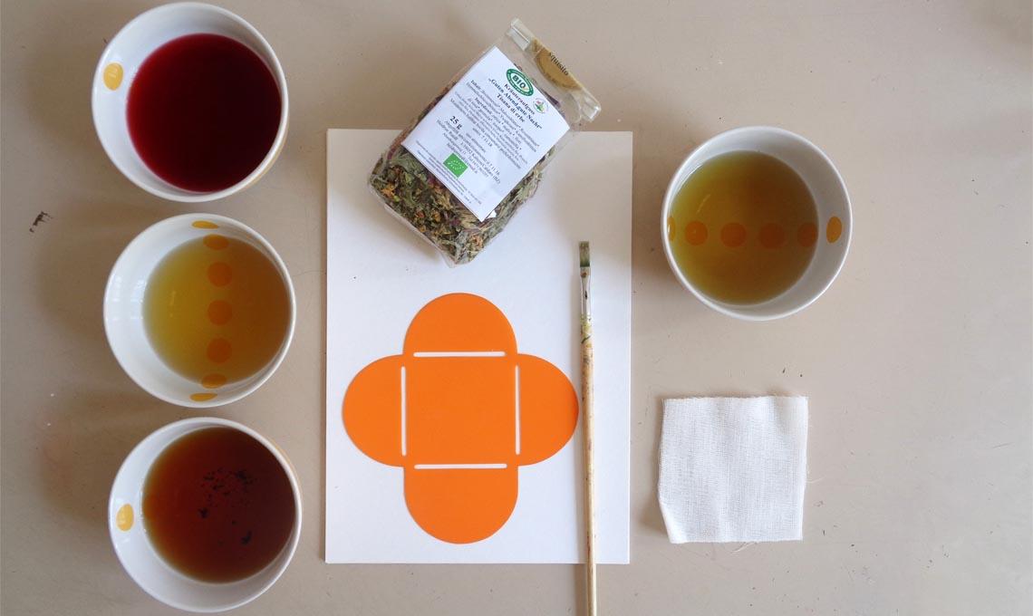 bustine di tè fai da te