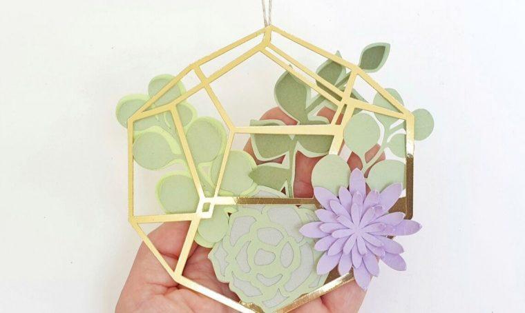 Come realizzare un terrario di carta