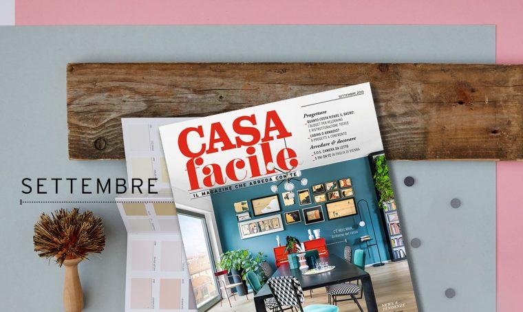 CasaFacile: il numero di settembre 2019