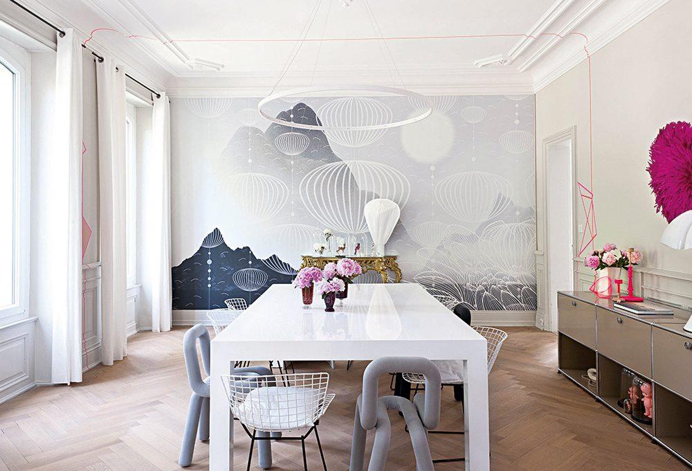 Come rendere contemporanea una casa in stile classico francese