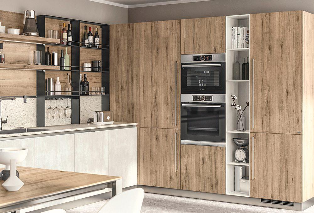 Sistemi super organizzati e salvaspazio per la cucina