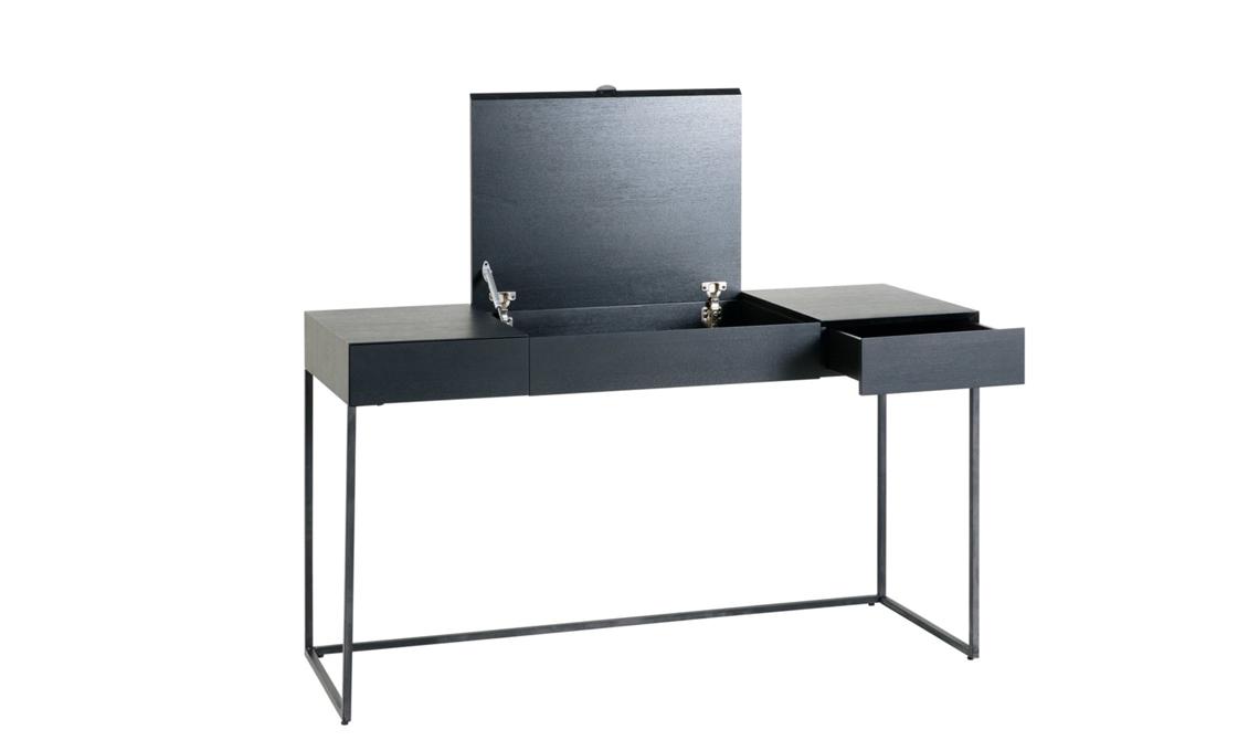 scrivania nera