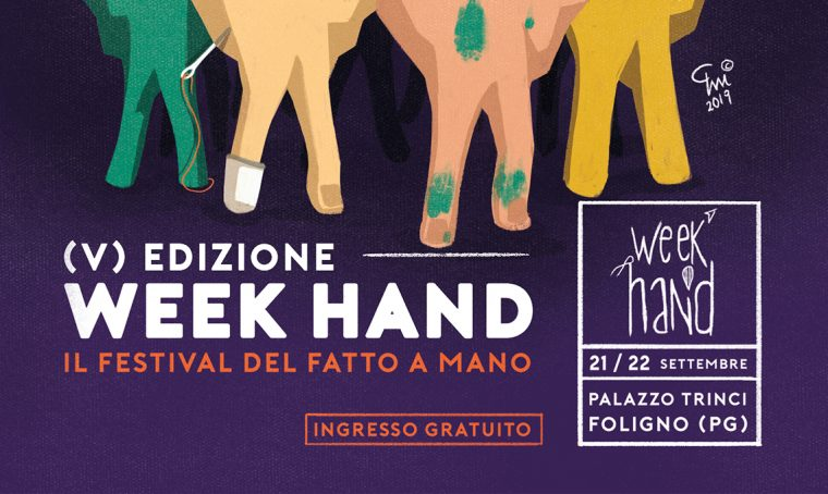 50 Artigiani (R)esistenti alla 5ª edizione di Week Hand – Festival del Fatto a Mano