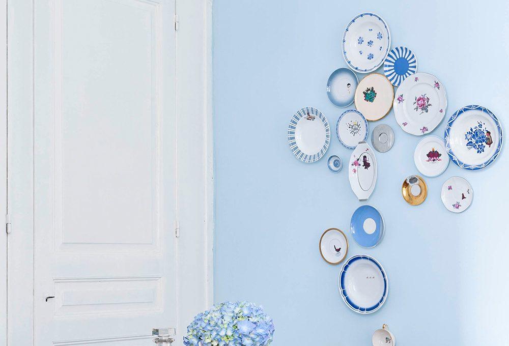 Come appendere i piatti decorativi