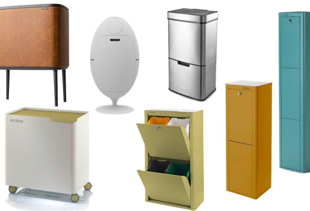 Raccolta differenziata con stile: 5 contenitori di design