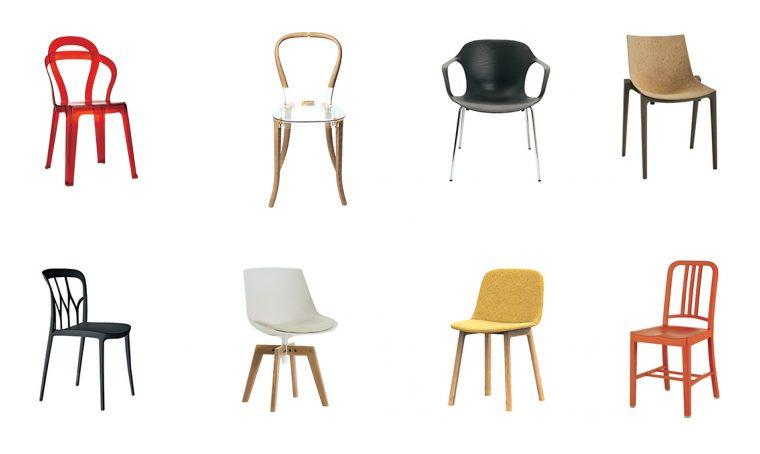 Sedie ecocompatibili di design