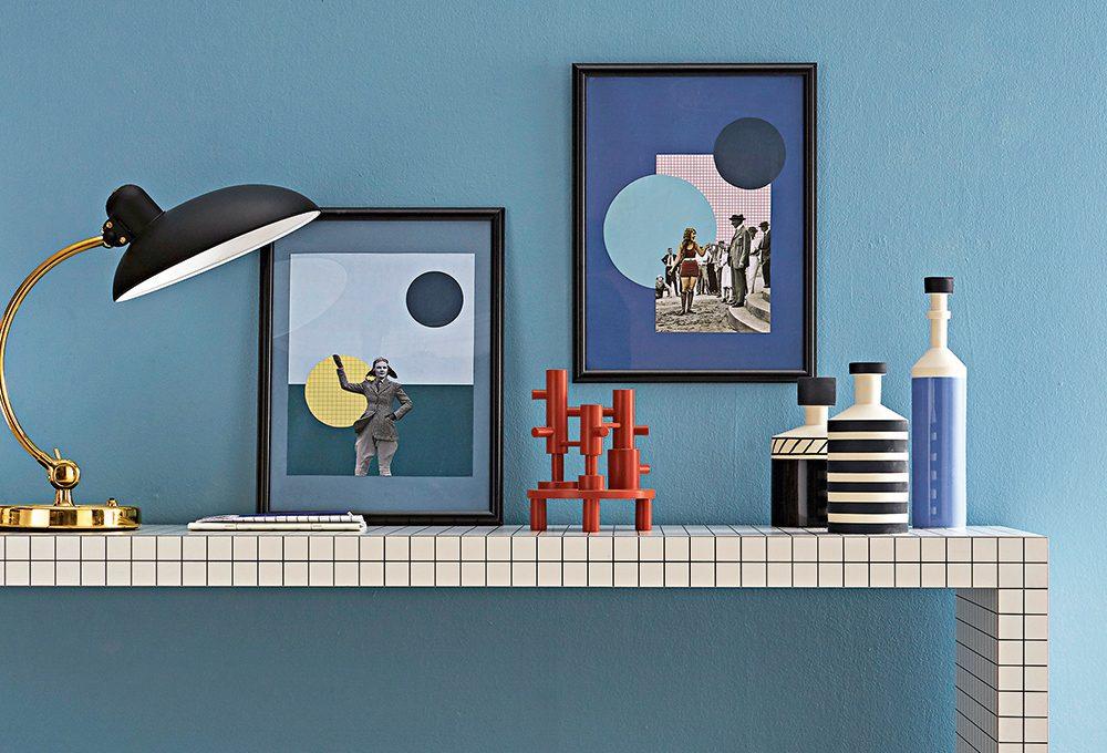 Collage: realizza stampe e passepartout di cartone vintage
