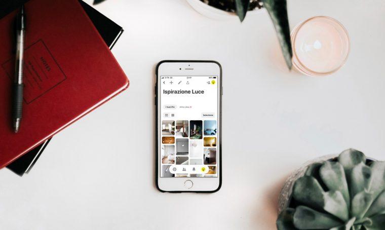 Illuminazione: come creare il tuo archivio su Pinterest