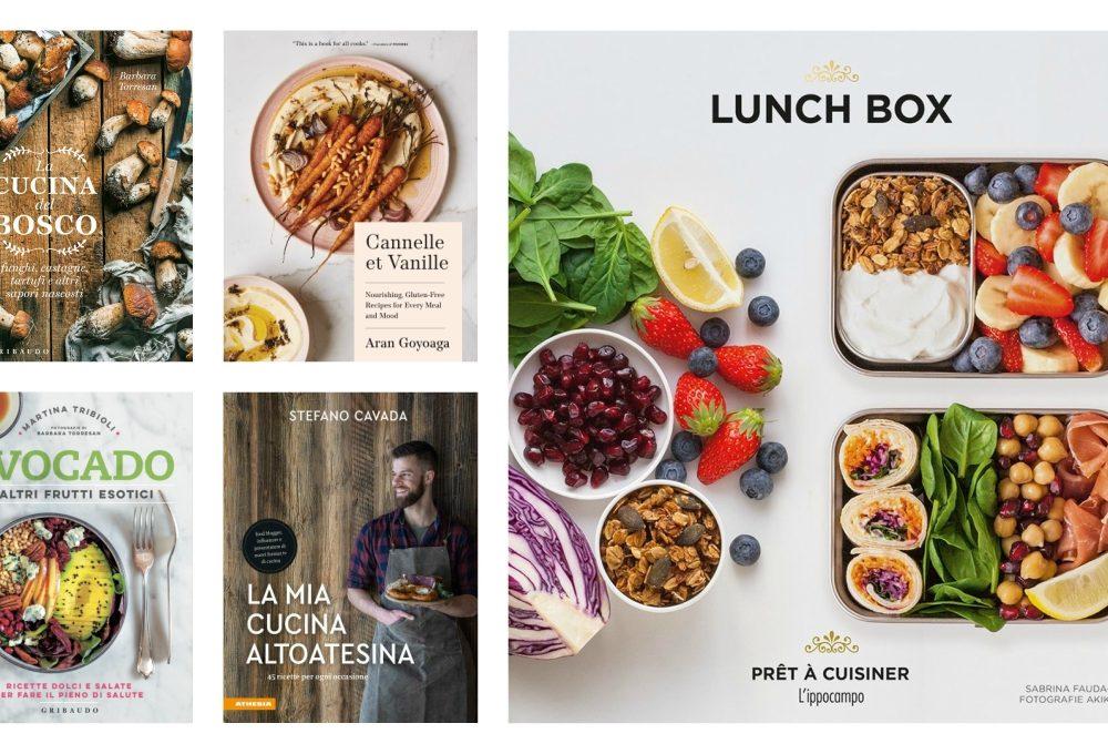 5 novità in libreria per gli amanti della cucina