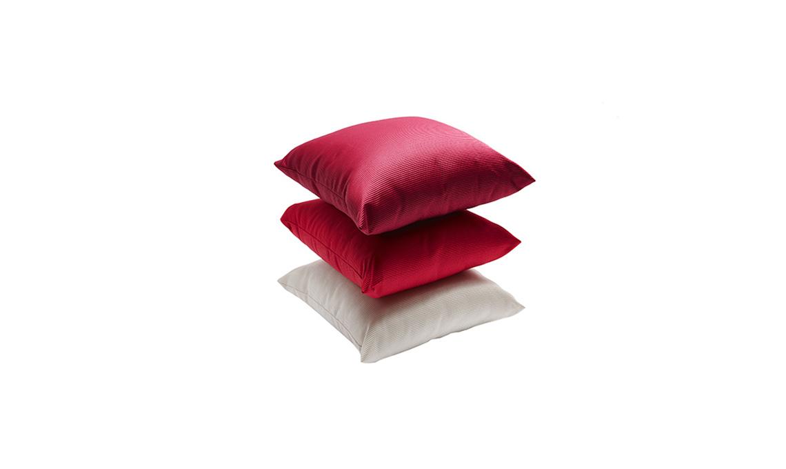 tendenza rosso cuscini