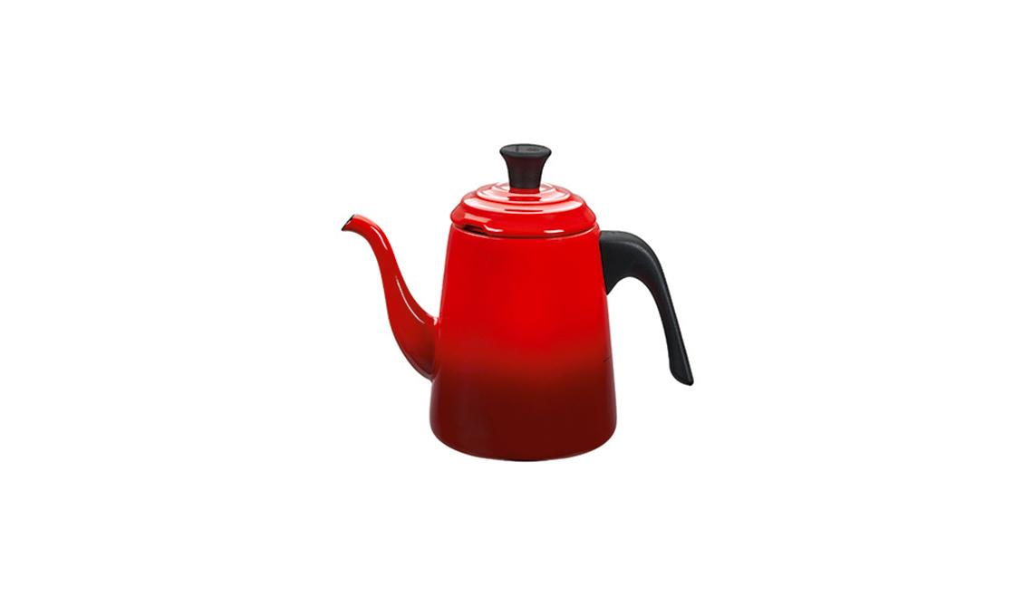 tendenza rosso caffettiera