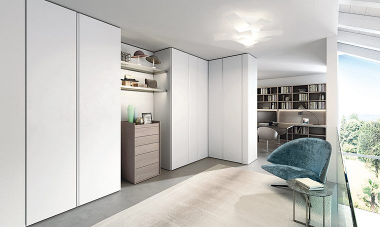 Camera matrimoniale standard: scegli tra armadio e cabina