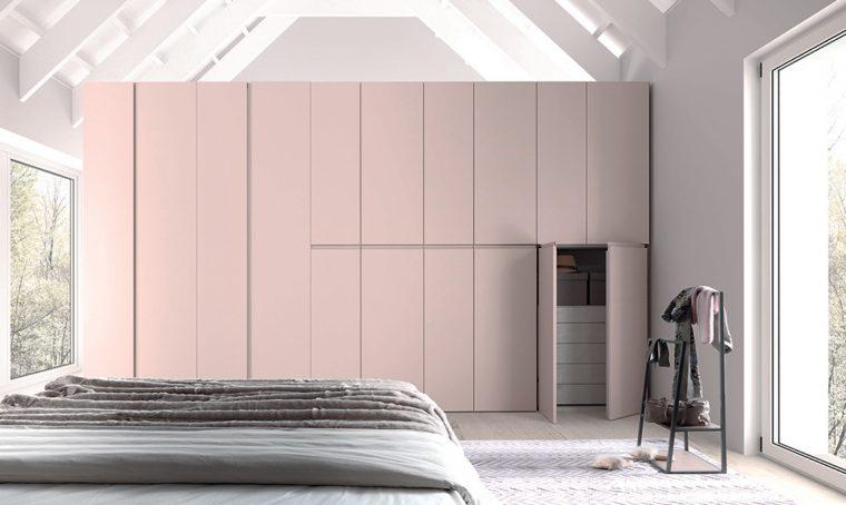 Camera rettangolare maxi: scegli tra armadio e cabina