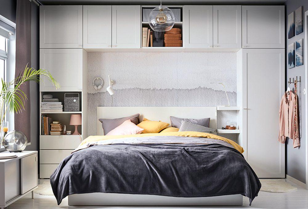 Camera lunga e stretta: scegli tra armadio e cabina
