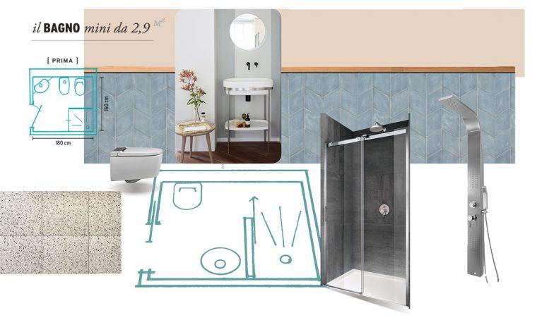 Come ristrutturare un bagno mini