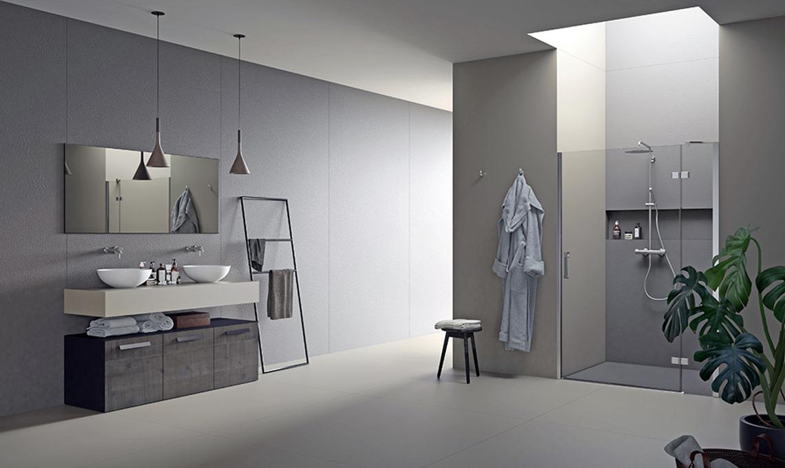 secondo bagno con doccia passante