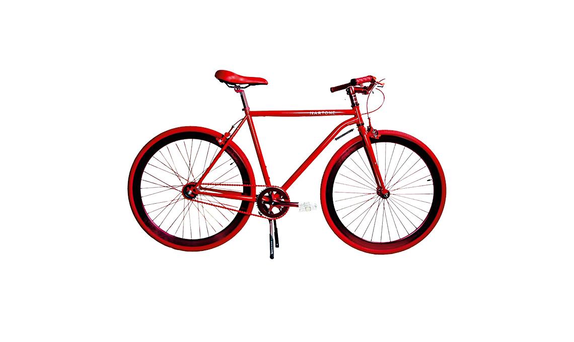 tendenza rosso bici