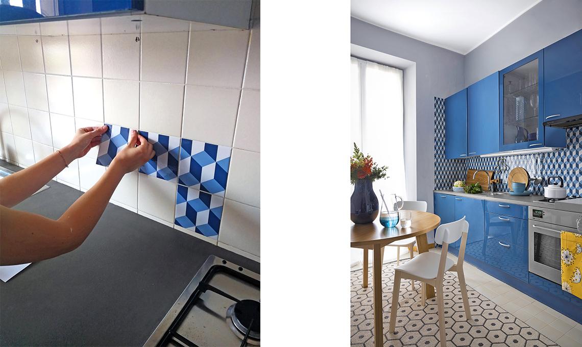 casa prima e dopo cucina