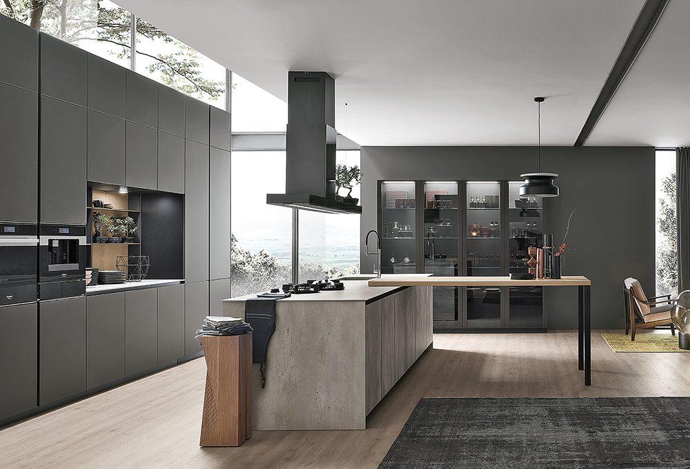 Tendenza in cucina: le superfici in vetro