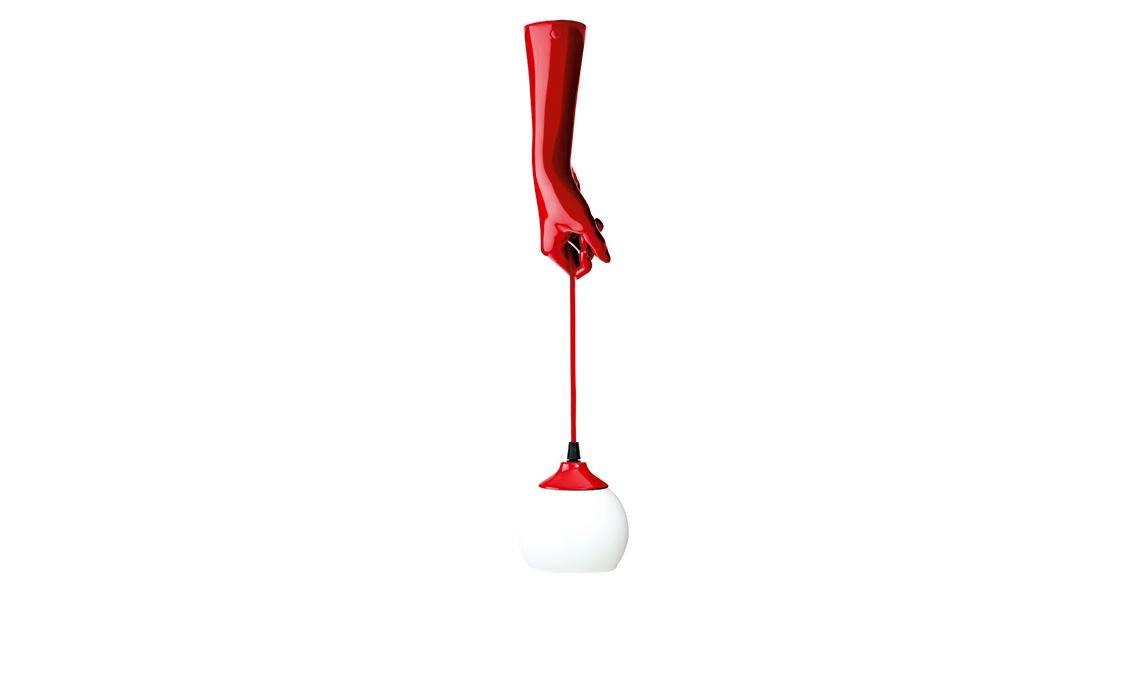 tendenza rosso lampada