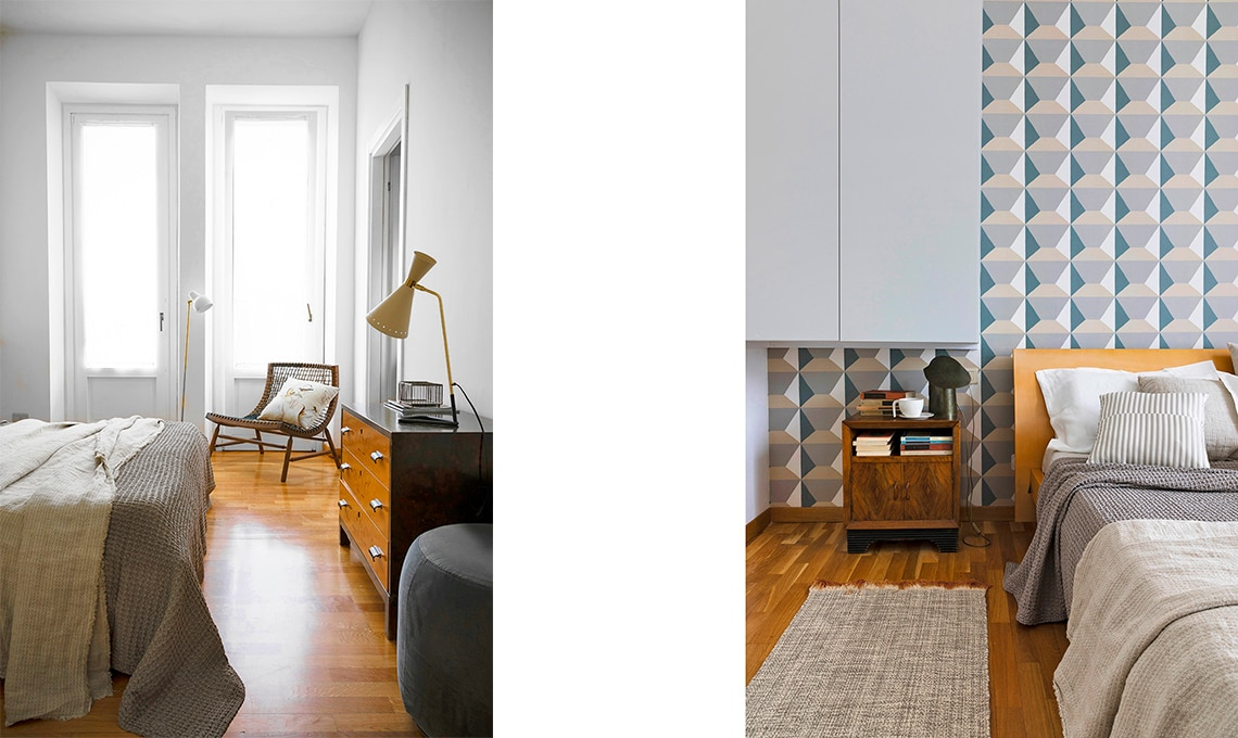 casa prima e dopo camera
