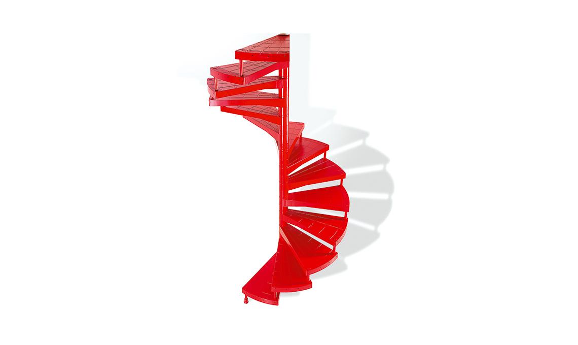 tendenza rosso scala