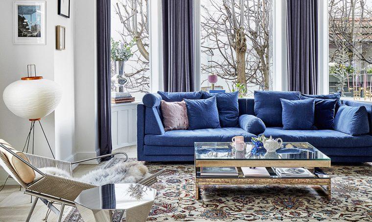 L'arte del contrasto in una casa dall'animo eclettico