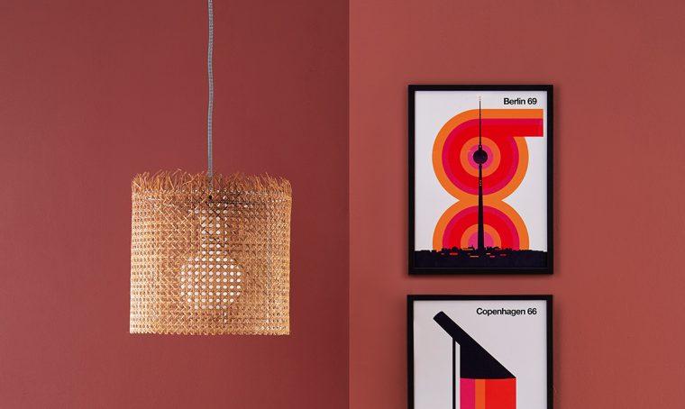 Come realizzare il lampadario in Paglia di Vienna