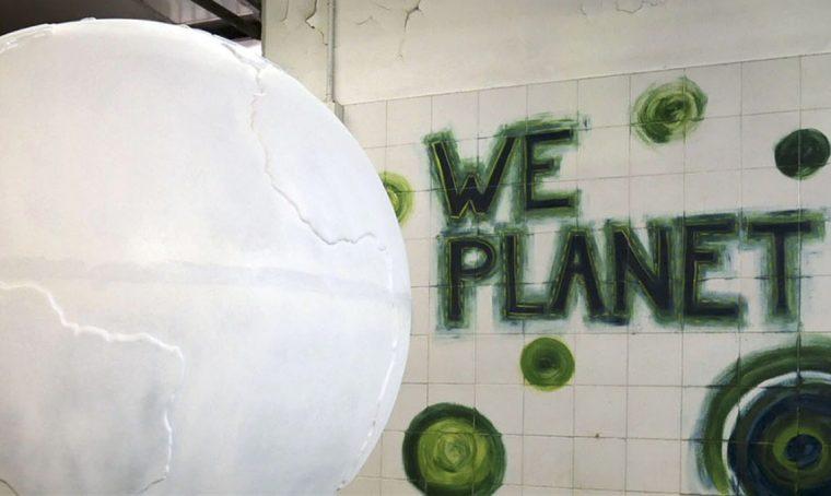 L'officina creativa dei globi di WePlanet