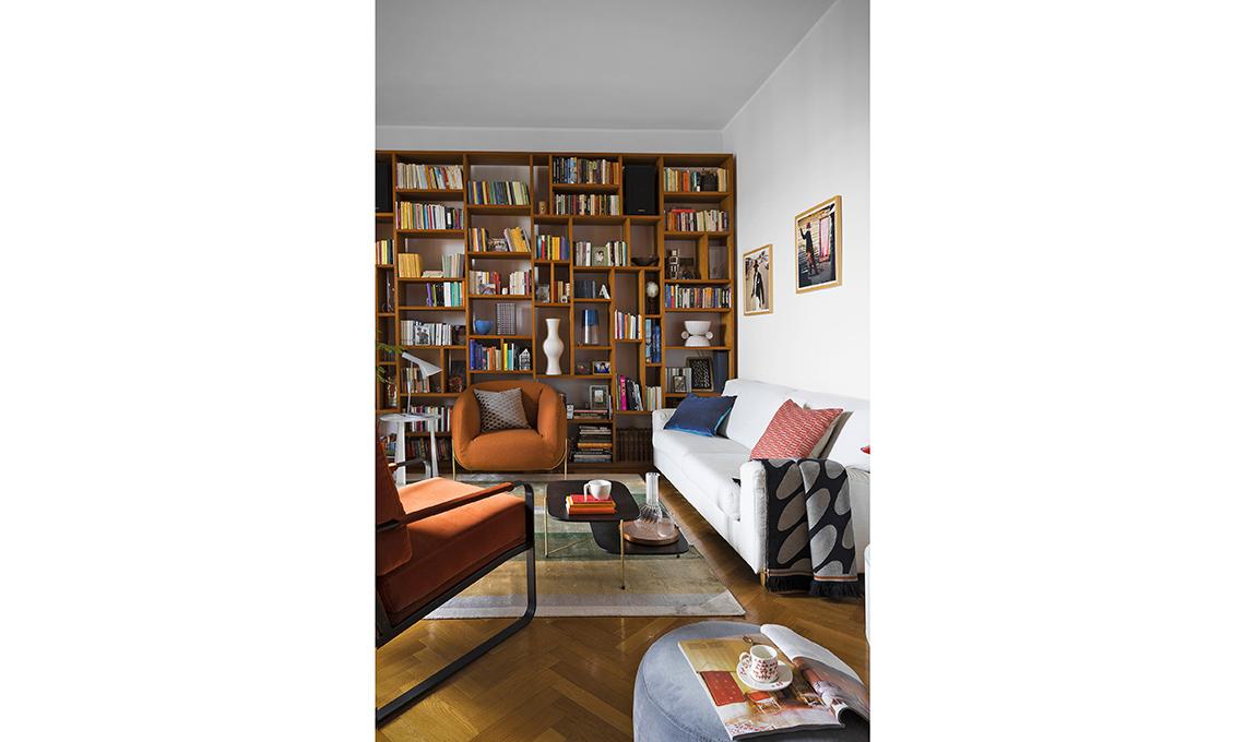 casa prima e dopo libreria