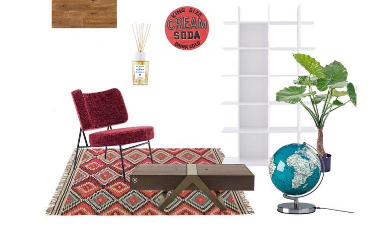 Arredare il soggiorno in stile vintage